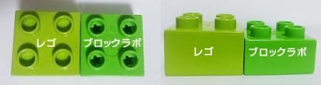 ブロックラボとレゴの比較